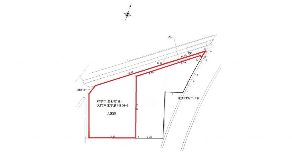 射水市(あおば台)大門本江字浦川856-2 A区画